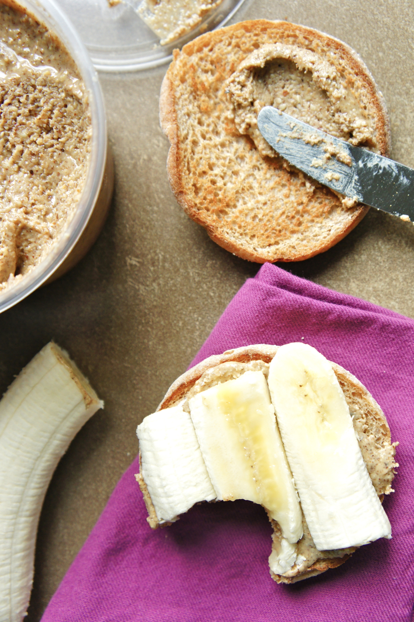 Almond Butter and Bananas