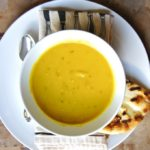 Parsnip Leek Soup with Cumin and Mustard Seeds {plus the curry version}