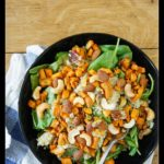 Roasted Sweet Potato Salad with Quinoa and Nuts