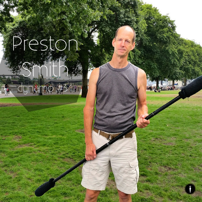 Dynamo: Preston Smith - Preston is a staff flow artist, he loves sharing his passion for movement, and hopes others find their true art.