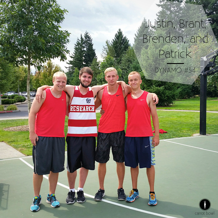 Dynamo #34: Justin, Brant, Brenden, & Patrick - Summer kid basketball coaches for 8 years!