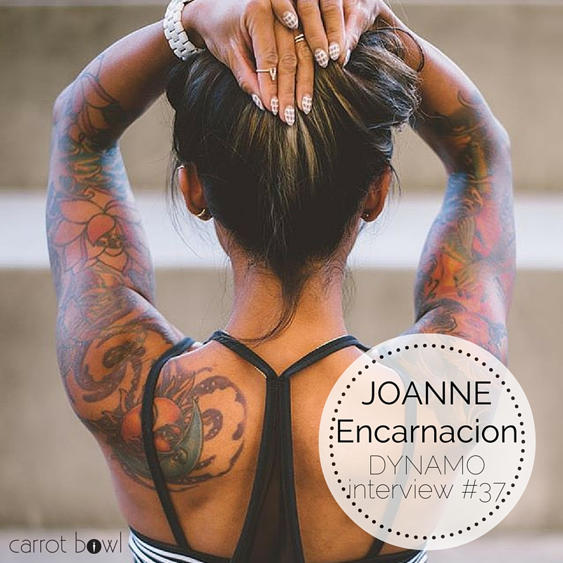Dynamo: GOFITJO - Joanne Encarnacion - a conversation on body love and being a bad-ass #girlboss. carrotbowl.com