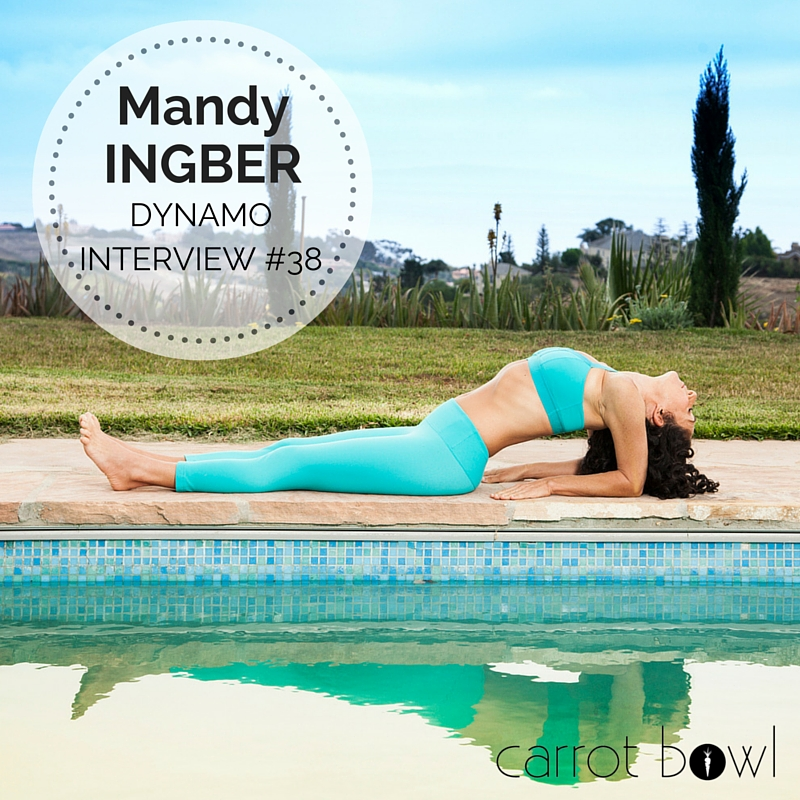 "Dynamo Interview: Mandy Ingbar, author of the book ""Yogalosophy"""